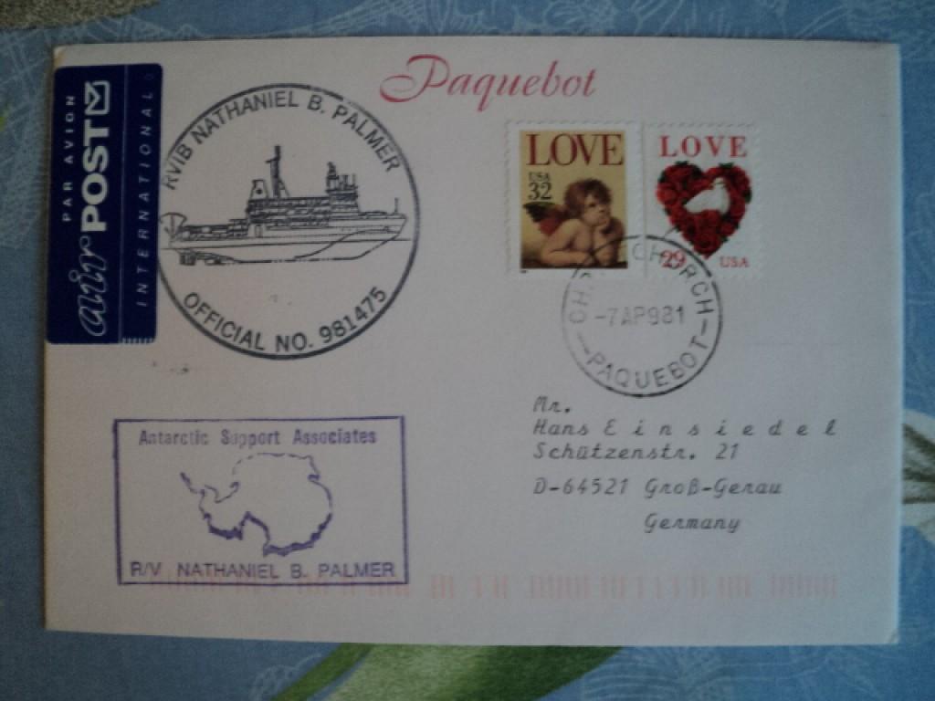 Свадьба год, открытка из сша почтой